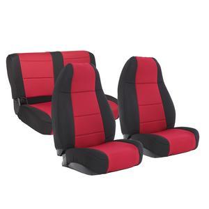 Smittybilt 471130 Neoprene Seat Cover Fits 91-95 Wrangler (YJ)
