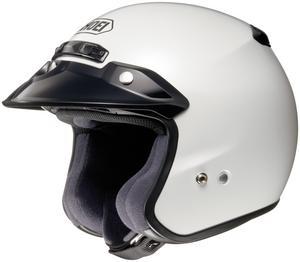 Shoei RJ Platinum-R Solid Helmet Crystal White (White, X-Small)