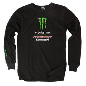 Pro Circuit Team Monster Long Sleeve Thermal T-Shirt (Black, Small)