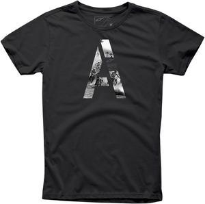 Alpinestars Adult 2016 Capita Short Sleeve T-Shirt Black Slim Fit  Medium