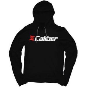 Caliber Products Hoodie Sweatshirt (Black, Medium)