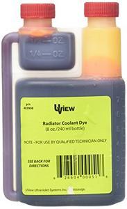 UView UVU483908 Radiator Coolant Dye (8 oz. Bottle)