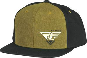 Fly Racing Adult Choice Black/Gold Snapback Hat