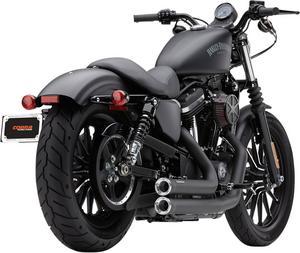 Cobra Speedster Shorts RPT Black For Harley Davidson XL 14-17 6785B