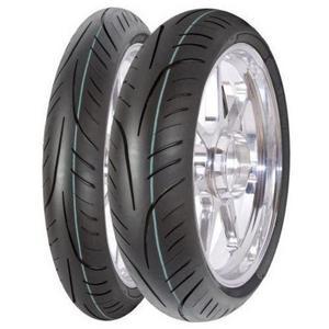 Avon Tyres 8180013 StreetRunner AV83 Rear Tire - 100/90-17