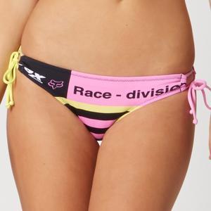 Fox Intake Side Tie Bikini Bottom Blondie (Yellow, Medium)