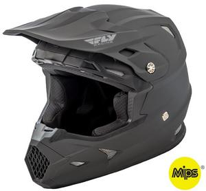 Fly Racing Toxin Resin Youth Helmet Matte Black (Black, Small)