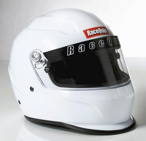 RACEQUIP 2X-Small Gloss White PRO15 Full Face Helmet P/N 273110