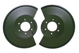 Omix-Ada 11212.02 Disc Brake Dust Shield Fits 78-86 CJ5 CJ7 Scrambler