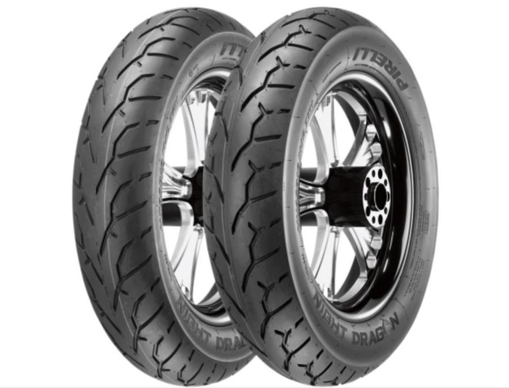 Pirelli 2468800 Night Dragon Front Tire - 130/60B23