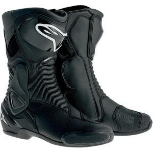 Alpinestars SMX-6 Vented Boots (Black, 3.5)