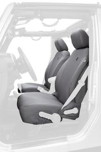 Bestop 29283-35 Black Front Seat Cover 13-18 Jeep Wrangler 2DR & Unlimited