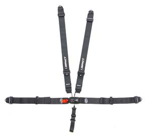 IMPACT RACING Black Latch and Link 5 Point Harness P/N 52111111
