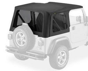 Bestop 58128-35 Tinted Window Kit for Replace-A-Top 03-06 Wrangler not Unlimited