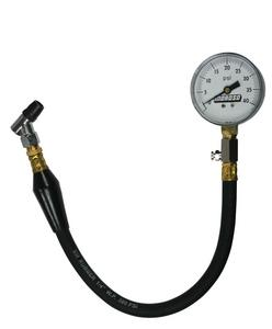 Moroso 0-40 psi Analog Tire Pressure Gauge 2-5/8 in Diameter P/N 89555