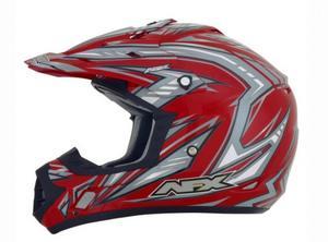AFX 0132-0797 Helmet Peak for FX-17/Y Factor - Red