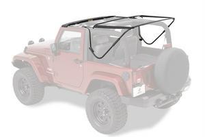 Bestop Factory Style Frame Bow Kit for 2007-2017 Jeep Wrangler JK 2 Door