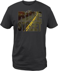 Alpinestars Adult 2016 Ride Street Short Sleeve T-Shirt Black Tee Shirt Small
