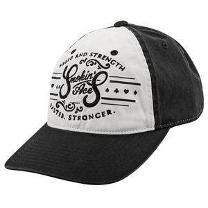 Speed & Strength Smokin Aces Womens Ball Cap Black/White (Black, Small)