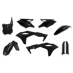 Acerbis 2630630001 Full Plastic Kit - Black