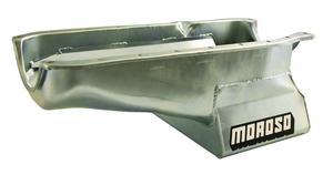 Moroso Street/Strip Engine Oil Pan 8-1/4 in Deep Small Block Chevy P/N 20201
