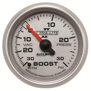 AutoMeter 4903 Ultra-Lite II Mechanical Boost/Vacuum Gauge