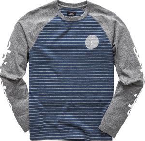 Alpinestars Resto Knit Long Sleeve Shirt Navy (Blue, Medium)