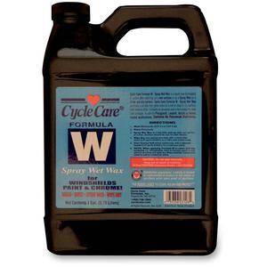 Cycle Care Formulas 66128 Formula W Spray Wet Wax - 1gal.
