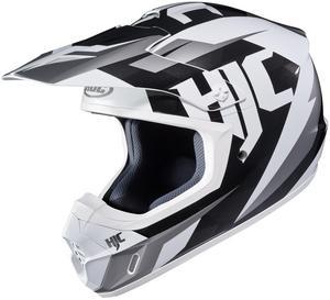 HJC CS-MX II Dakota Helmet White (MC-10) (White, X-Small)
