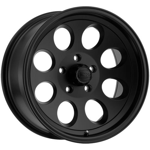 "4-Ion 171 18x9 5x5"" +0mm Matte Black Wheels Rims 18"" Inch"