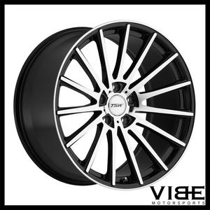 "19"" TSW CHICANE MACHINED CONCAVE WHEELS RIMS FITS LEXUS ISF"