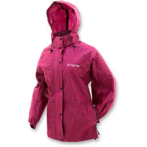 Frogg Toggs Pro Action Womens Rain Jacket Cherry (Red, X-Large)