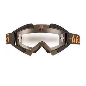 Ariete Riding Crows Basic Collection Goggles Green/Black (Green, OSFM)