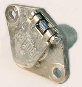 Cequent 50-60-001 (50) 6-Way Zinc Die Cast Connectors - Car End - Bulk