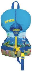 Kwik Tek Airhead Infant Nylon Vest Blue (0-30 Lbs.)