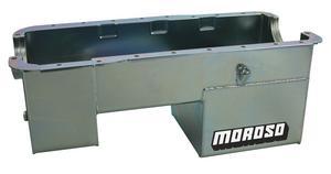 Moroso Street/Strip Engine Oil Pan 9 in Deep Small Block Ford P/N 20511