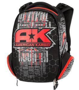American Kargo 3517-0337 Commuter Backpack - Red
