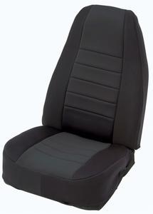 Smittybilt 47801 Neoprene Seat Cover Fits 07-12 Wrangler (JK)