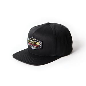 Factory Effex Rockstar Emblem Snapback Hat Black 18-86600