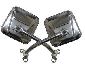 Rampage 7418 Side Mirror Kit Fits 76-95 CJ5 CJ7 Wrangler (YJ)