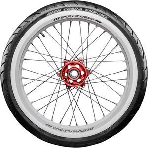 Avon Tyres 2120398 Cobra Chrome AV91 Front Tire - MT/90B16RF