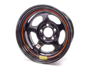 BASSETT Inertia Advantage 15x8 in 5x5.00 Black Wheel P/N 58A52I