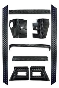Rugged Ridge 11650.50 Body Armor Kit Fits 97-06 Wrangler (TJ)
