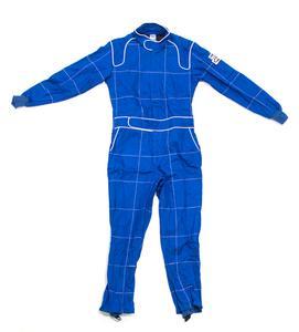 Crow Enterprises Small Blue Double Layer 1 Piece Driving Suit P/N 27003