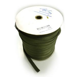 "ARBSTR500 - Arbor supplies Green Tree Tie Webbing 500FT x 3/4"" - Tree Guying"