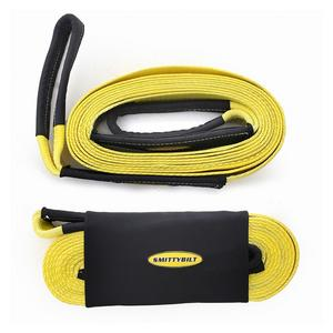 Smittybilt CC230 Recovery Strap 2 in x 30 Ft Rated 20000 lbs.