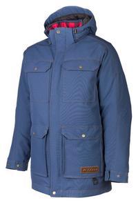 Klim Tundra Parka Snowmobile Jacket Blue Mens Size XL