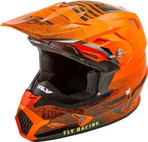 Fly Racing Toxin MIPS Cold Weather Embargo Helmet Neon Orange/Black (Orange, XX-Large)