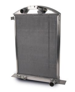 AFCO RACING PRODUCTS Ford 1937-39 Aluminum Radiator P/N 80142-S-NA-N
