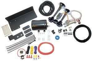 Kleinn Air Horns JEEPKIT-99 Trail Blaster Air Horn Kit Fits 07-18 Wrangler (JK)